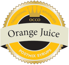 Orange Juice Post Mix Syrup